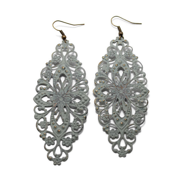 Simply Lovely Earrings - Lightweight Metal Earrings