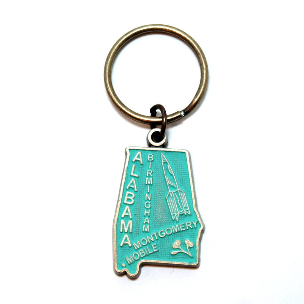Alabama Keychain