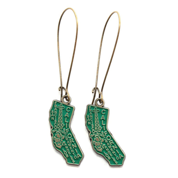 California State Earrings