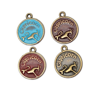 Zodiac Capricorn - Charm Bracelet, Necklace or Charm Only