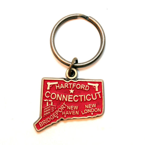 Connecticut Keychain