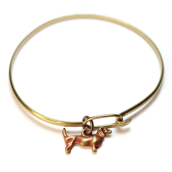 Dachshund, Charm, Bracelet, or Necklace