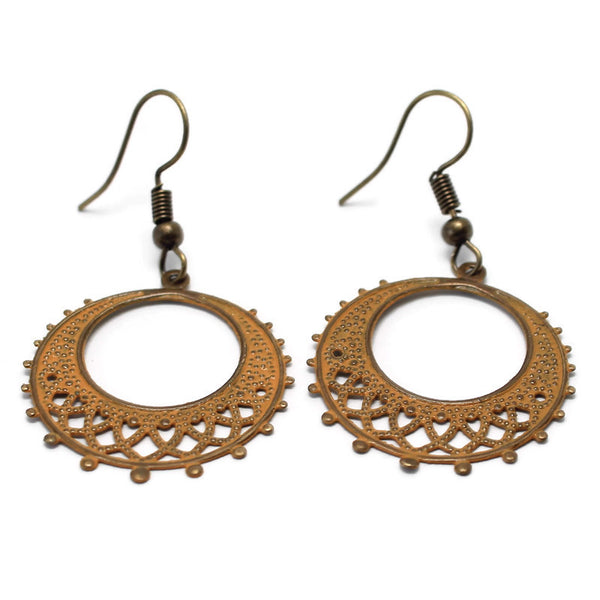 Demure Filigree Earrings