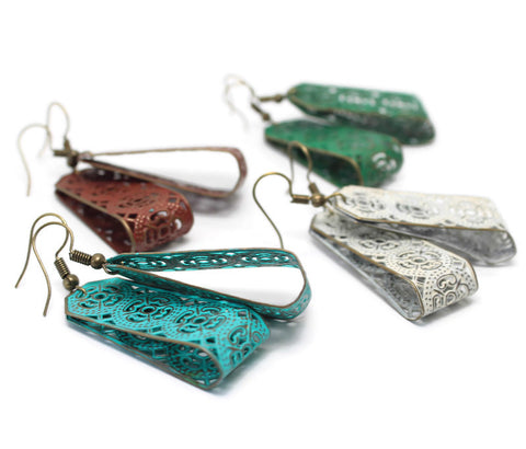 Departure Filigree Earrings
