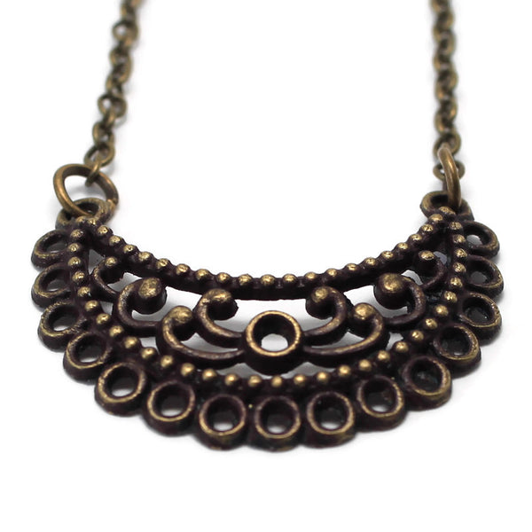 Eyelet You Know Necklace