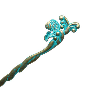 Fish Hairpin