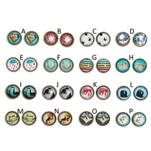 For Fun Dome Earring Collection