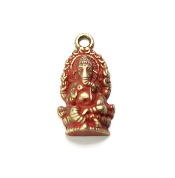 Ganesha, Charm, Bracelet, or Necklace
