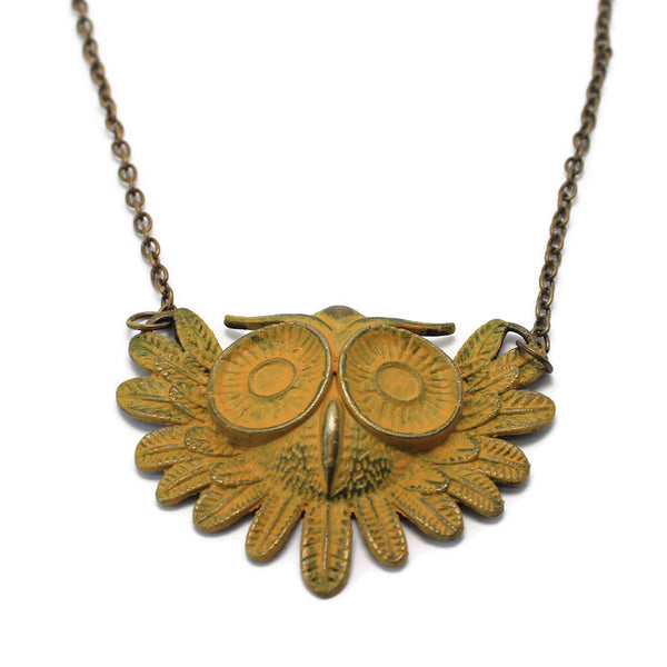 Give a Hoot Necklace