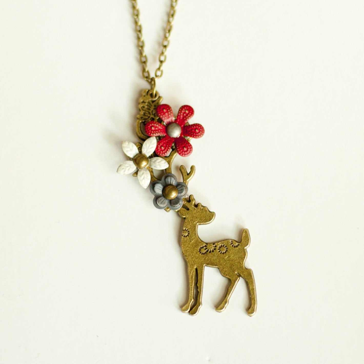 Oh, Deer Necklace