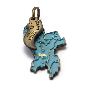 Grand Teton National Park Charm: Bracelet, Necklace or Charm Only