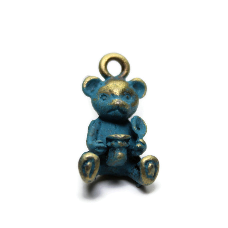Honey Bear, Charm, Bracelet, or Necklace