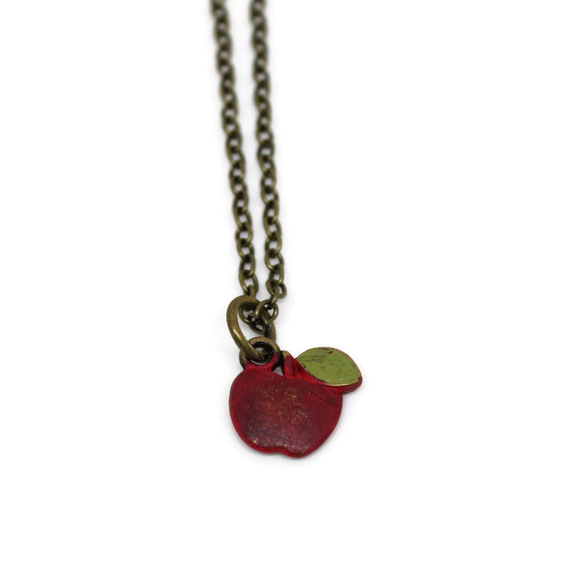 Apple Charm Bracelet, Necklace, or Charm Only