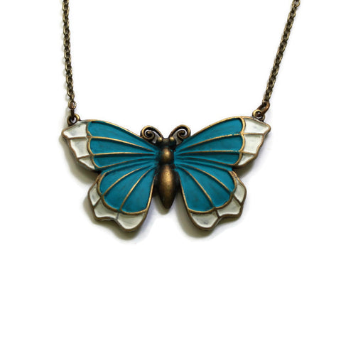 Butterfly Connector Necklace