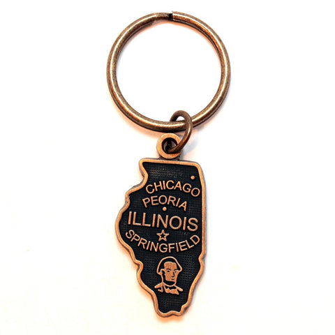 Illinois Keychain