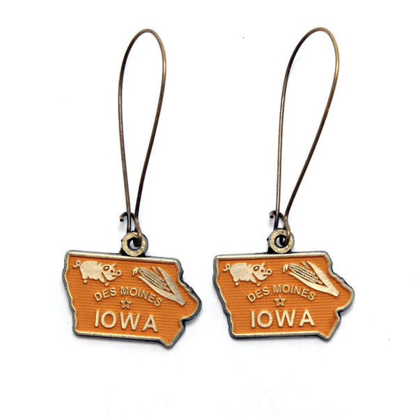 Iowa State Earring