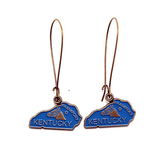 Kentucky State Earring