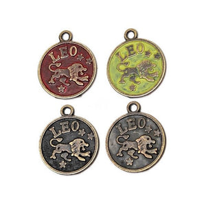 Zodiac Leo - Charm Bracelet, Necklace or Charm Only