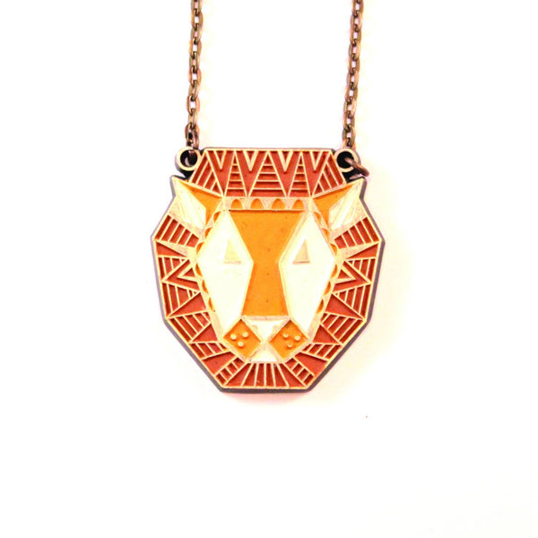 Lion Connector Necklace