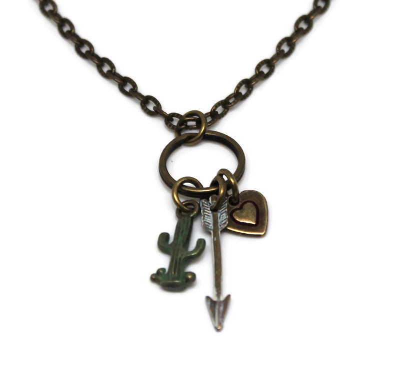 Love Hurts Charm Necklace