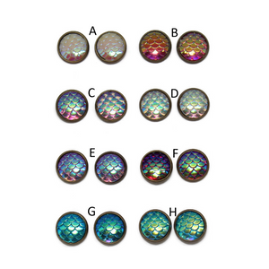 Mermaid Dome Earring Collection