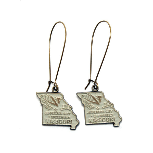 Missouri State Earrings
