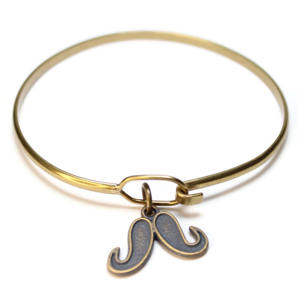 Mustache, Charm, Bracelet, or Necklace