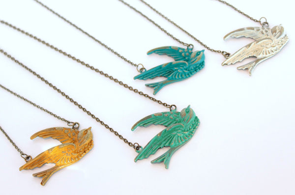 Sparrow Necklace - CLOSEOUT SPECIAL!