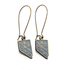 Nevada State Earring