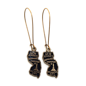 New Jersey State Earring