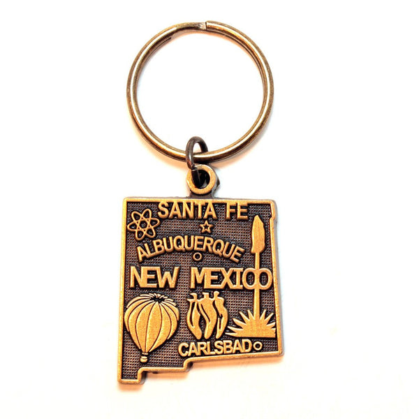 New Mexico Keychain