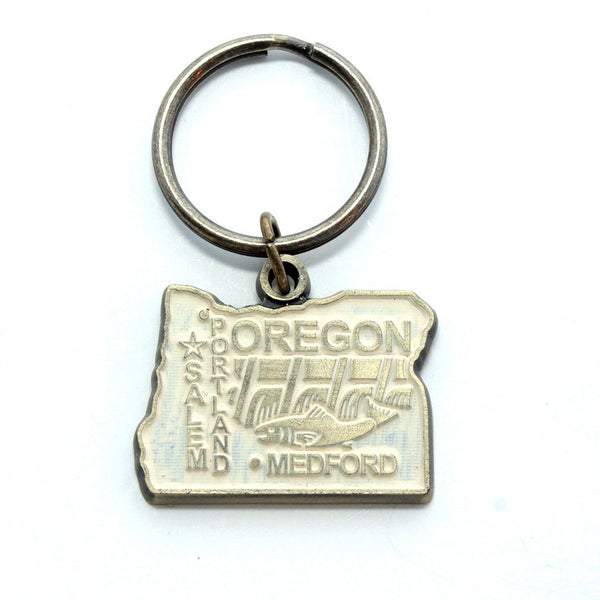 Oregon Keychain