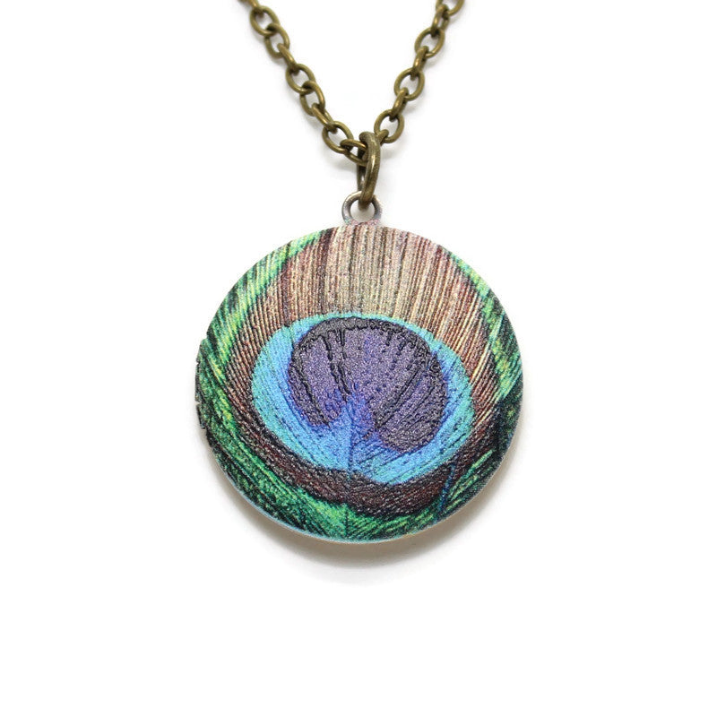 Peacock Eye Locket