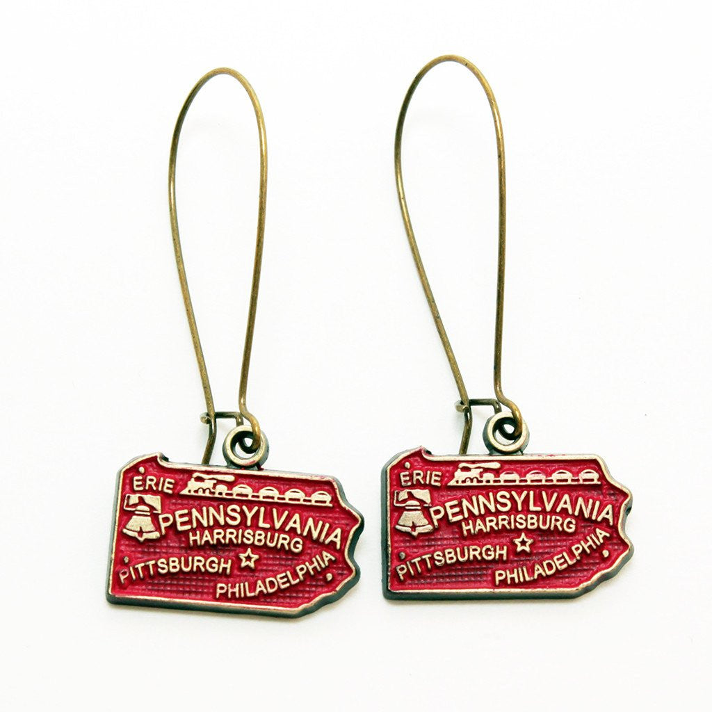 Pennsylvania State Earring
