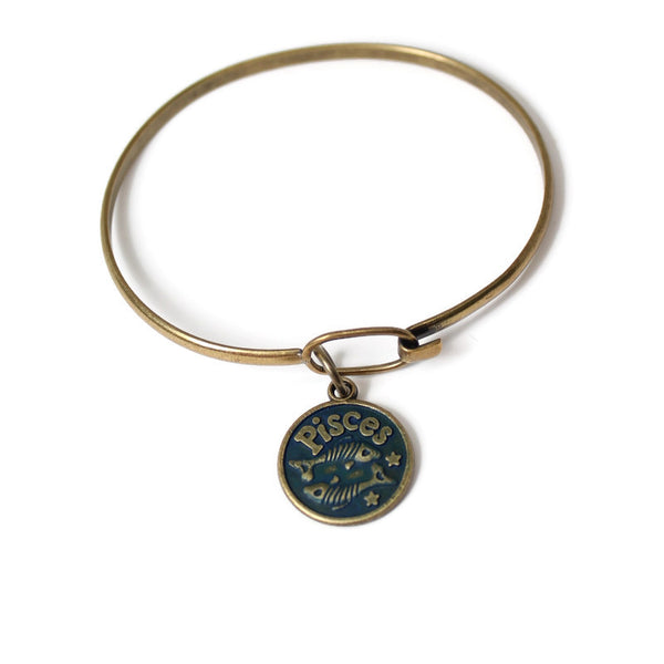 Zodiac Gemini - Charm Bracelet, Necklace or Charm Only