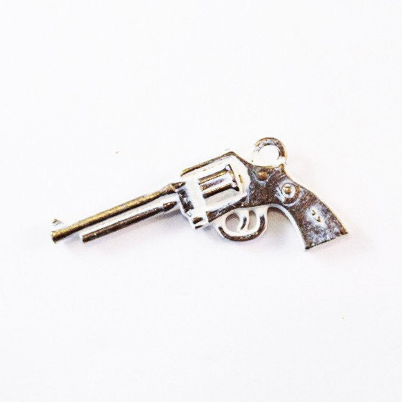 Pistol Charm Bracelet or Necklace