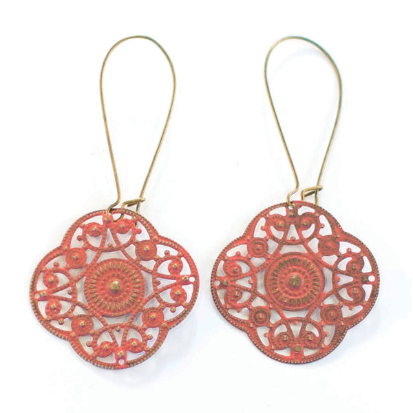 Positivity Filigree Earrings