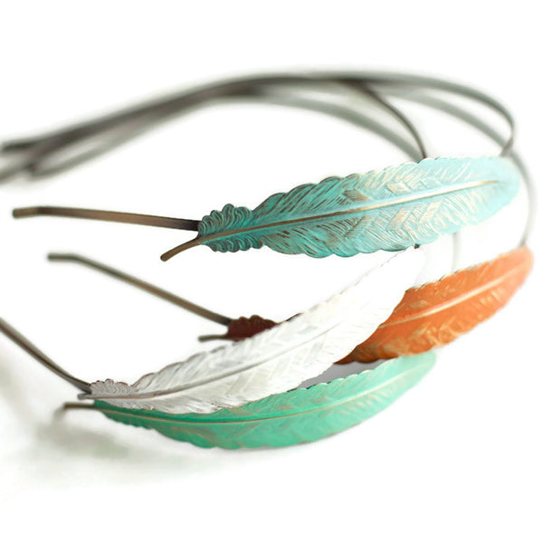 Feather Quill Headband