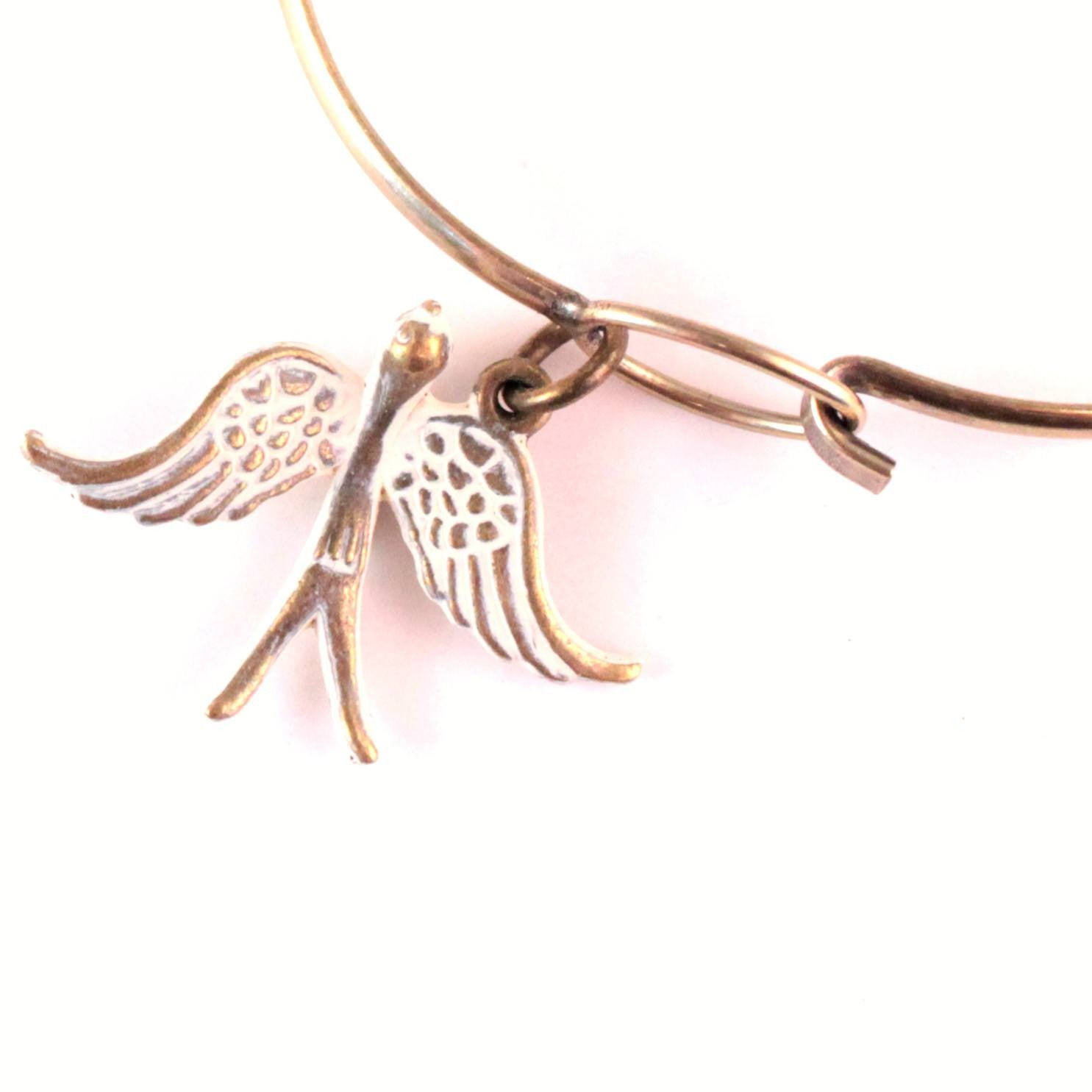 Swallow Charm Bracelet or Necklace