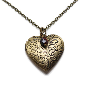 Tooling Around My Heart Locket