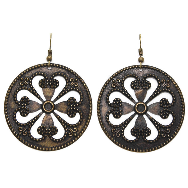 Wagon Wheel Earrings