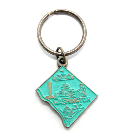 Washington DC Keychain