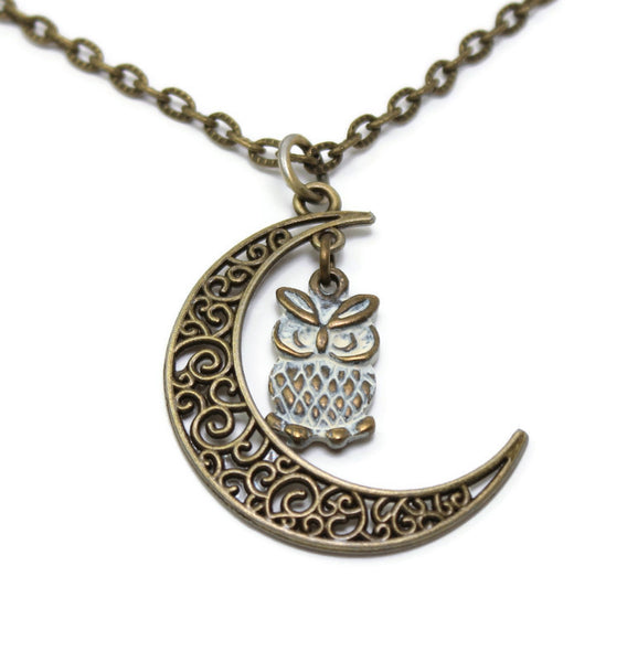 Hoo's Watching Necklace