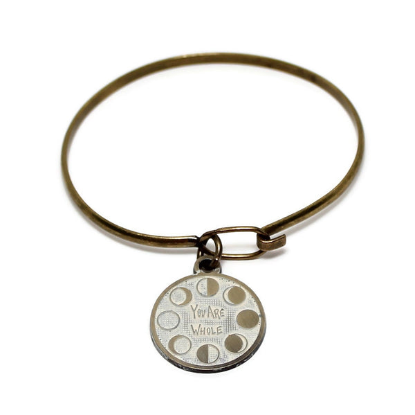 You Are Whole Charm Token - Charm Only, Bracelet, Necklace