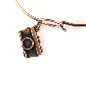 Camera Charm Bracelet, Necklace, or Charm Only