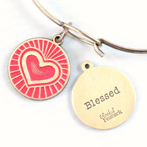 Blessed Token Charm Bracelet, Necklace, or Charm Only