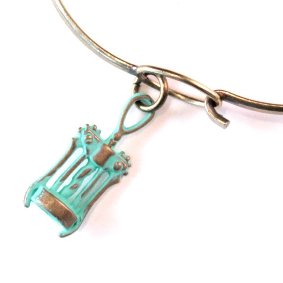 Corkscrew Charm Bracelet, Necklace, or Charm Only