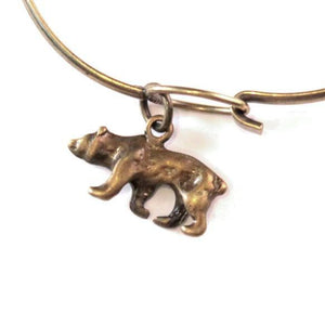 Bear Charm Bracelet, Necklace, or Charm Only