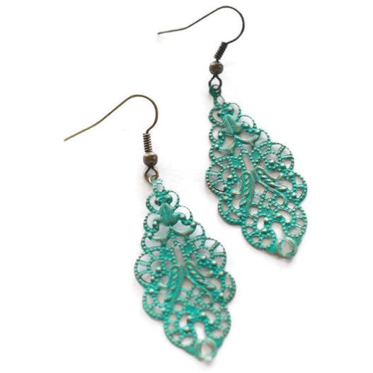 Chandelier Filigree Earrings