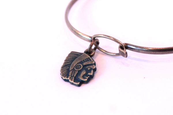 Chief Charm Bracelet, Necklace, or Charm Only